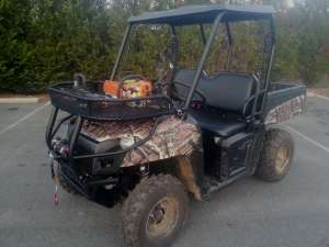 Polaris ATV Custom Rack