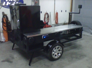Custom Mobile Smoker Grill